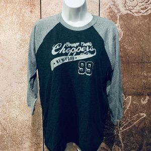 Women's OCC baseball tee